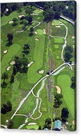 Philadelphia Cricket Club Wissahickon Golf Course 9th Hole Acrylic Print by Duncan Pearson