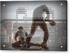 Philadelphia Phillies - Citizens Bank Park Acrylic Print by Bill Cannon