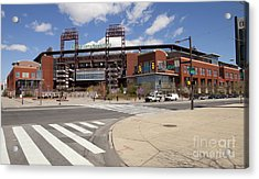 Philadelphia Phillies' Citizens Bank Park Acrylic Print by Anthony Totah