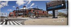 Philadelphia Phillies' Citizens Bank Park - Panoramic Acrylic Print by Anthony Totah