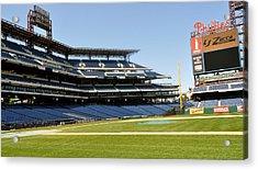 Phillies Stadium Acrylic Print by Brynn Ditsche