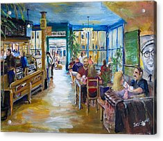 Philz Coffee San Francisco Acrylic Print by Jack Skinner