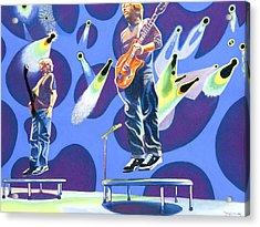 Phish Tramps Acrylic Print by Joshua Morton