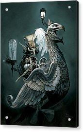 Phoenix Goblineer Acrylic Print by Paul Davidson