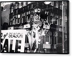 Photograph Of Marilyn Acrylic Print by Charles Stuart