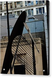 Picasso/chicago Acrylic Print by Todd Sherlock