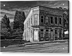 Pickens Wv Monochrome Acrylic Print by Steve Harrington