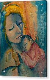 Picture Of Love Acrylic Print by Mary DuCharme