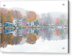 Picturesque Autumn Acrylic Print by Karol Livote