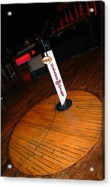 Piece Of The Original Old Stage At The Grand Ole Opry In Nashville Acrylic Print by Susanne Van Hulst
