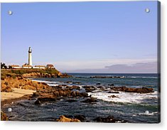 Pigeon Point Lighthouse Ca Acrylic Print by Christine Till