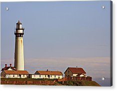Pigeon Point Lighthouse On California's Pacific Coast Acrylic Print by Christine Till