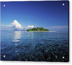 Pigin Island, Rabaul Harbour  East New Acrylic Print by David Kirkland