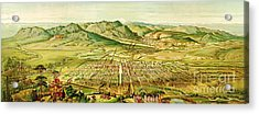 Pikes Peak Panorama Acrylic Print by Pg Reproductions
