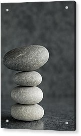 Pile Of Pebbles II Acrylic Print by Marco Oliveira