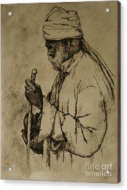 Pilgrim Acrylic Print by Tim Thorpe