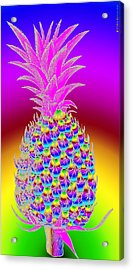 Pineapple Acrylic Print by Eric Edelman
