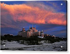 Pink Cloud Acrylic Print by David Lee Thompson