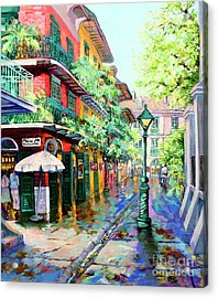 Pirates Alley - French Quarter Alley Acrylic Print by Dianne Parks