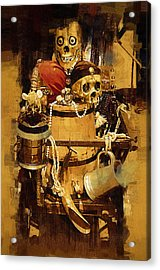 Pirates Loot Acrylic Print by Clarence Alford