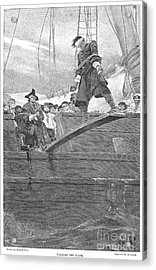 Pirates: Walking The Plank Acrylic Print by Granger