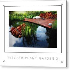 Pitcher Plant Garden 2 Poster Acrylic Print by Mike Nellums
