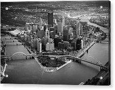 Pittsburgh 8 Acrylic Print by Emmanuel Panagiotakis