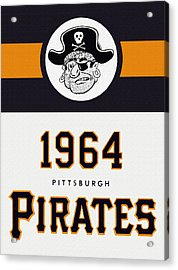 Pittsburgh Pirates 1964 Media Guide Acrylic Print by Big 88 Artworks