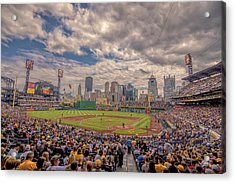 Pittsburgh Pirates 1a Pnc Park Acrylic Print by David Haskett