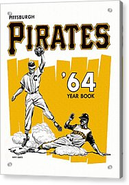 Pittsburgh Pirates 64 Yearbook Acrylic Print by Big 88 Artworks