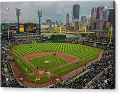 Pittsburgh Pirates Pnc Park 5569 Acrylic Print by David Haskett