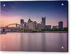 Pittsburgh Acrylic Print by Rick Berk