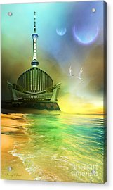 Planet Paladin Acrylic Print by Corey Ford