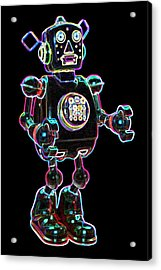 Planet Robot Acrylic Print by DB Artist