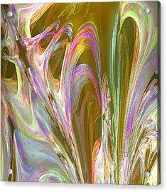 Plasma Flow Acrylic Print by Michael Durst
