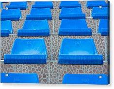 Plastic Sits Acrylic Print by Boyan Dimitrov