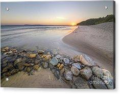 Platte River Sunrise Acrylic Print by Twenty Two North Photography