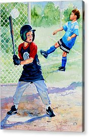 Play Ball Acrylic Print by Hanne Lore Koehler