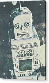 Playback The Antique Robot Acrylic Print by Jorgo Photography - Wall Art Gallery