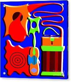 Playing Music Acrylic Print by Patrick J Murphy
