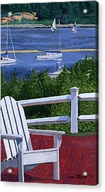 Pleasant Bay Cape Cod Acrylic Print by Dominic White