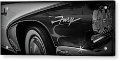 Plymouth Fury Acrylic Print by Mike Burgquist