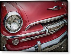 Plymouth Acrylic Print by Mike Burgquist