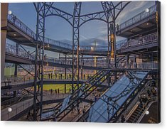 Pnc Park Pittsburgh Pirates D Acrylic Print by David Haskett