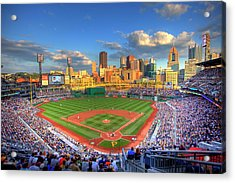 Pnc Park Acrylic Print by Shawn Everhart