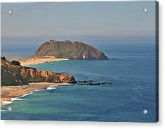 Point Sur Lighthouse On Central California's Coast - Big Sur California Acrylic Print by Christine Till