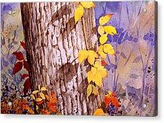 Poisonous Beauty Acrylic Print by Faye Ziegler