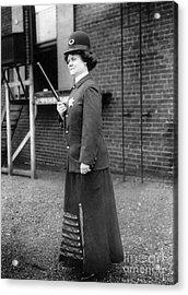 Policewoman, 1909 Acrylic Print by Granger