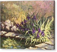 Pond Life Acrylic Print by Jose Rodriguez