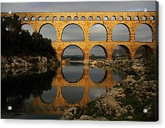 Pont Du Gard Acrylic Print by Boccalupo Photography